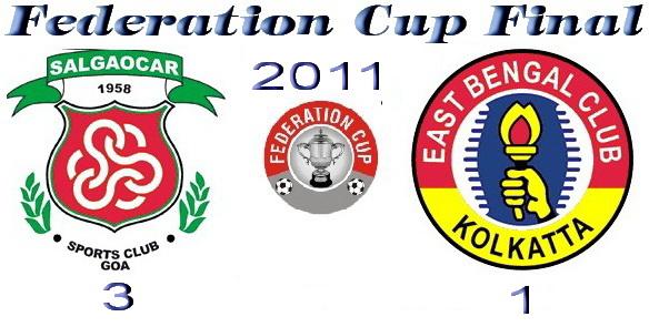 Federation Cup 2011 Champion Salgaocar SC