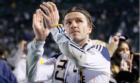 "MLS Cup champion LA Galaxy. ""Beckham kan duh"" – Galaxy fans"