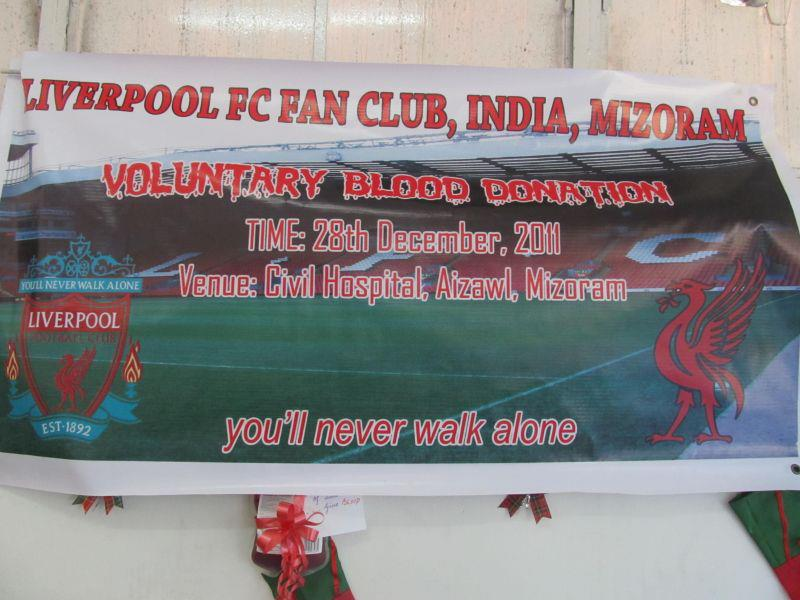 Liverpool FC Fan Club, India, Mizoram ten thisen an pe
