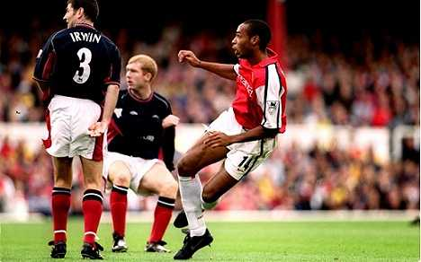 Goal ropui: Thierry Henry vs Manchester United 2000/11