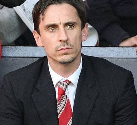 England coaching staff thar – Gary Neville