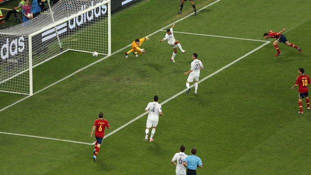 Xabi Alonso 2-0 France, Centurion Alonso goal hnih hmangin Spain in Semi-Final an lut
