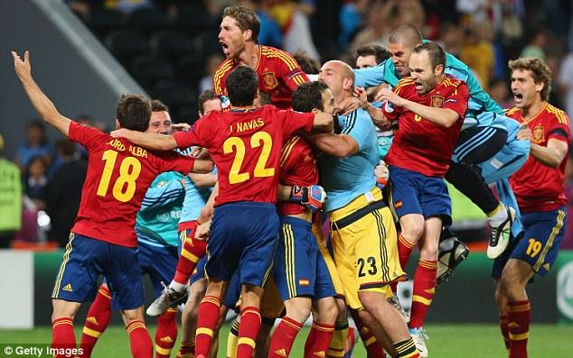 Euro 12 Semi-final : Spain vanneih zanah Portugal an tap!