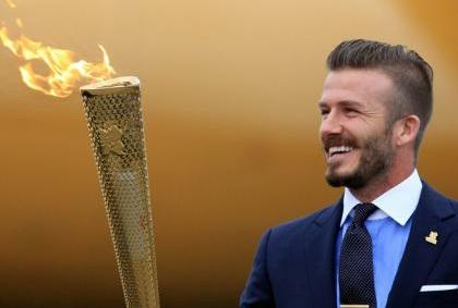 Great Britain 'Olympics squad' ah David Beckham a tel ve lo