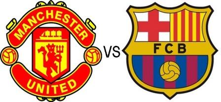 Pre-season match : FC Barcelona vs Manchester United
