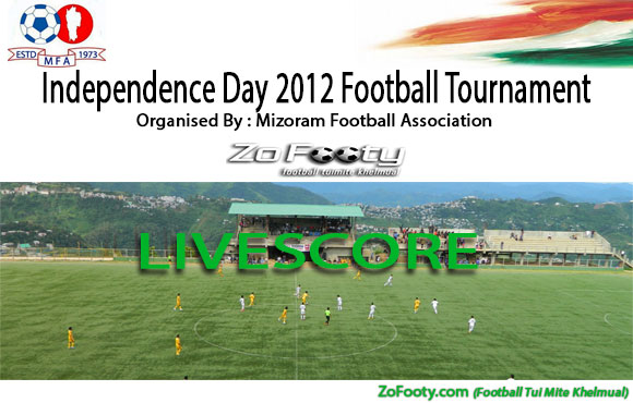 Result & Table : I-Day 2012 Football Tournament