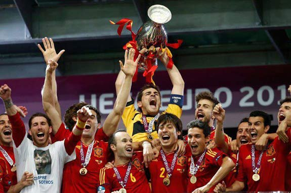 Fifa ranking Thar Ber – SPAIN an sang fal.
