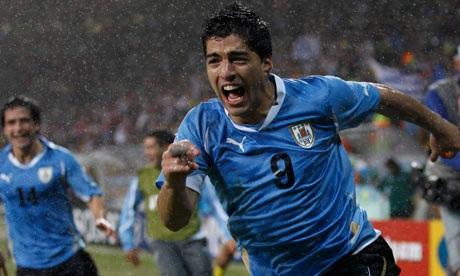 Uruguay Olympic squad ah Luis Suarez leh Edinson Cavani