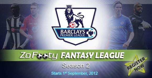 ZoFooty Fantasy League Season 2 atan a in register theih tawh e!