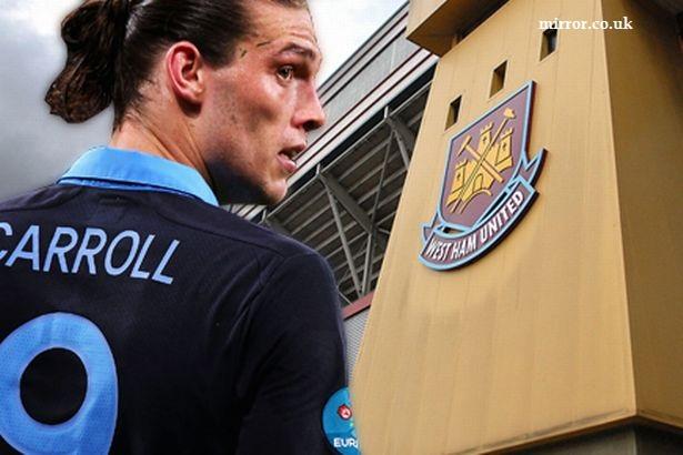 West Ham United ah Andy Carroll kum 1 chhung a khel dawn