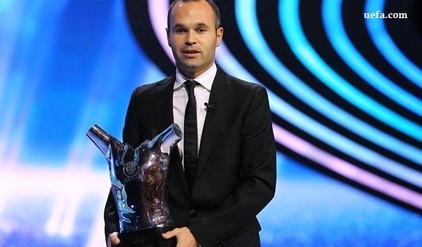 UEFA Best Player in Europe: Andrés Iniesta