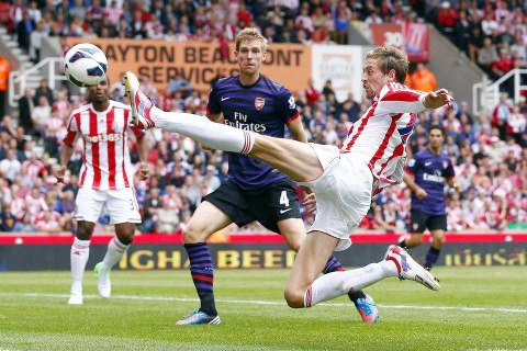 Stoke City 0-0 Arsenal: Gunners In Goal Thun An Harsat