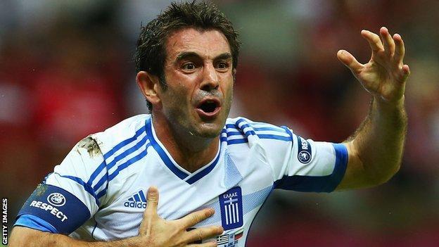 Fulham in Giorgos Karagounis free transfer in an la.