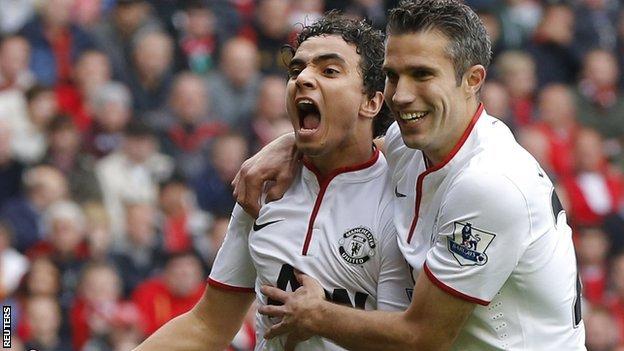 Liv 1-2 Man Utd :10 men Liverpool leh Man Utd danglamna Van Persie Penalty !!!