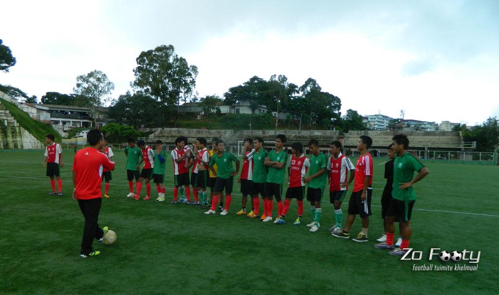 ZoFooty-in Aizawl FC training kan chhim !