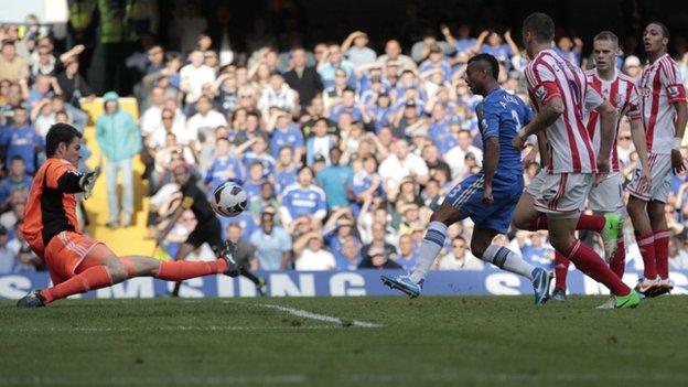 Chelsea 1-0 Stoke : Attacking player neitha Chelsea chhanhimtu chu defender a ni!