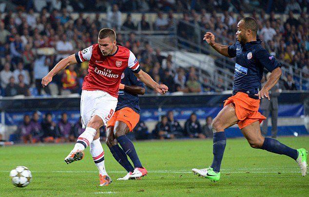 Montpellier HSC 1-2 Arsenal: French Champion An Vanduai