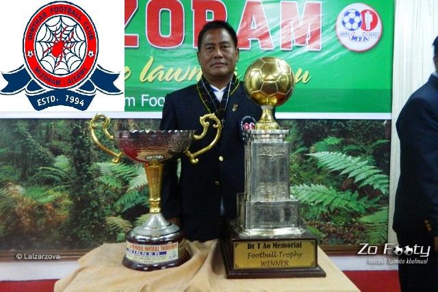 Dinthar FC-in Chief Coach atan T.Vanlalhluna an ruat thar !