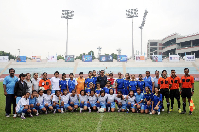 Subroto : Mizoram U-17 Girls-in 5-0 in Gujarat an sawp !