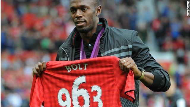 Manchester United leh Usain Bolt an inhnaih tial tial.