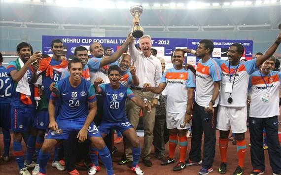 FIFA/Coca-Cola World Ranking: Nehru Cup champion India a tlahniam