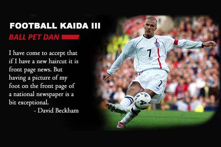 Football Kaida 3: Ball pet dan