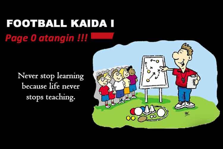 Football Kaida 1: Page 0 atangin !!!