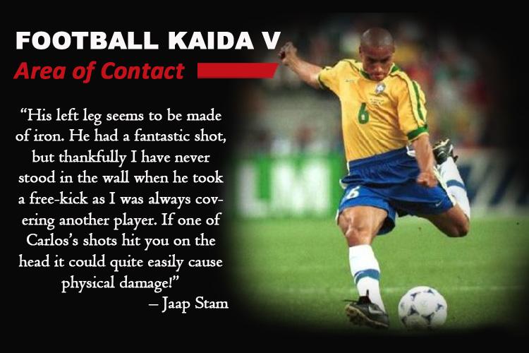 Football Kaida -5 : Area of Contact