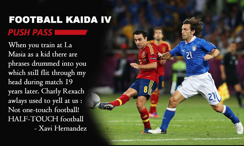 Football Kaida- 4 : Push Pass