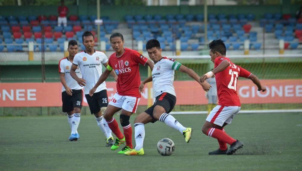 Aizawl FC chakna Ricky – Rooney Opa