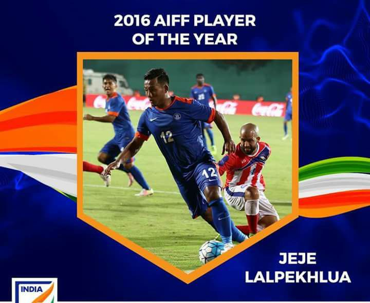 INDIAN FOOTBALLER OF THE YEAR – JEJE