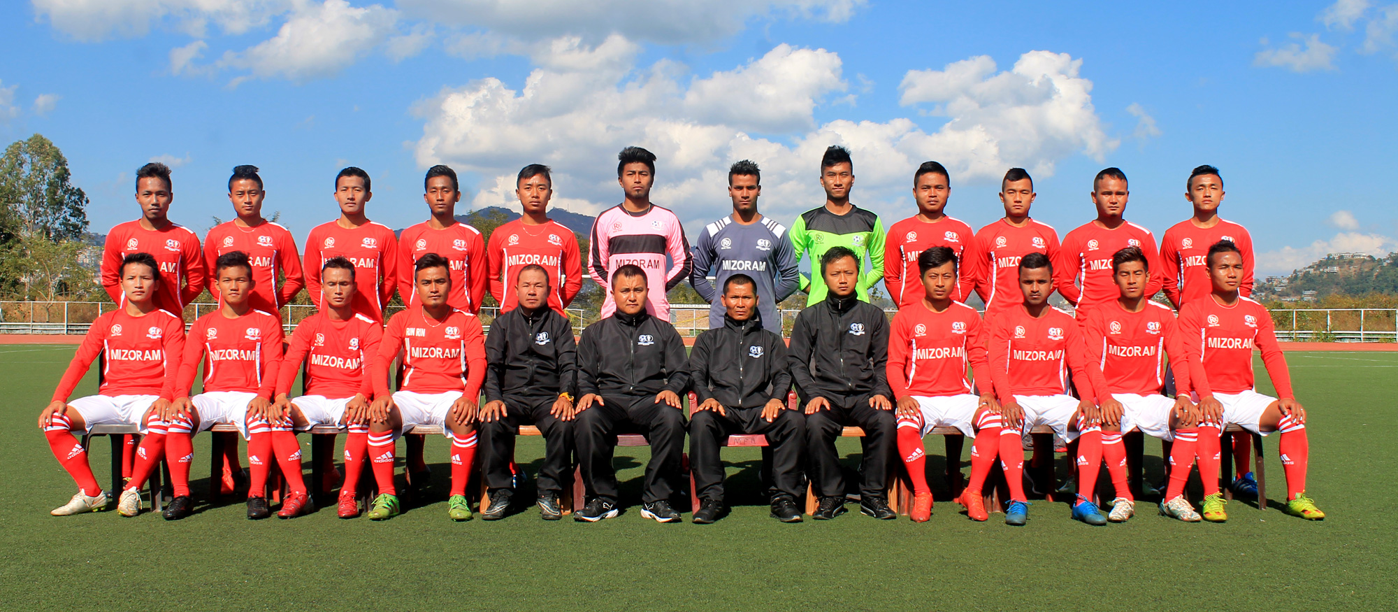 Mizoram team a chiang ta