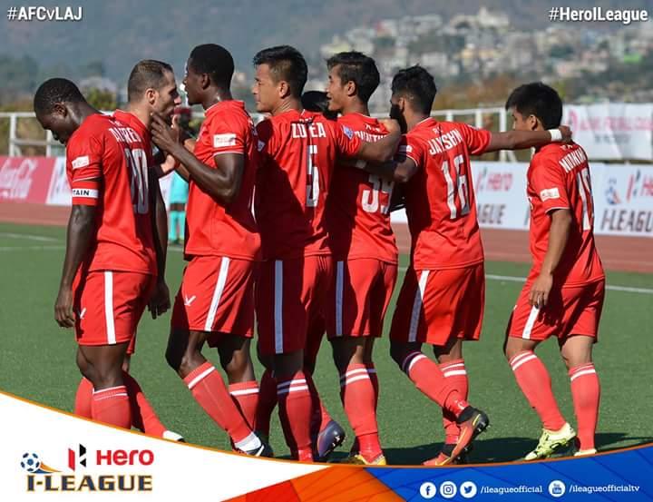 NORTH EAST DERBY-AH AIZAWL FC IN LAJONG HNEH