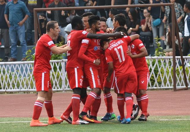 AIZAWL FC IN HMAHRUAITU EAST BENGAL HNEH – Rooney Opa