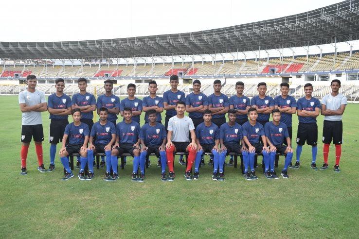 INDIA U-16 TEAM ZINCHHUAK; MIZO PALI TEL