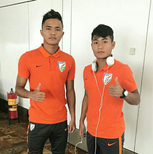 AFC U-19 QUALIFIER KHEL TUR INDIA TEAM – AH MIZO PAHNIH