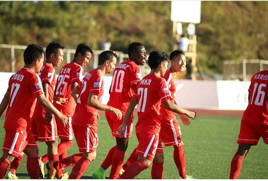 HERO I-LEAGUE: MINERVA PUNJAB TAN AIZAWL FC AN LIAN – Rooney Opa
