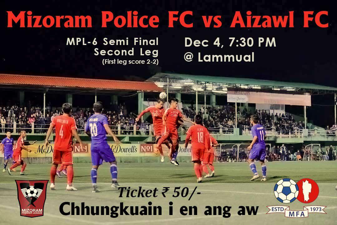 MPL6 : TEAM THA PAHNIH INBEIHNA; POLICE NGE AIZAWL FC ?