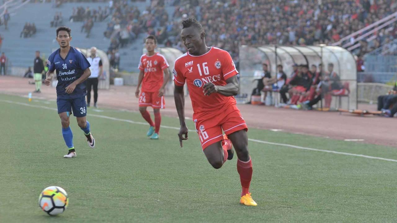 Kareem-a tel loin Aizawl FC