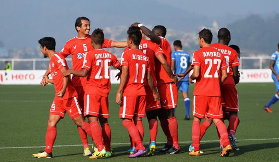 AIZAWL FC I-LEAGUE KHELH DAN THLIR KIR ILA