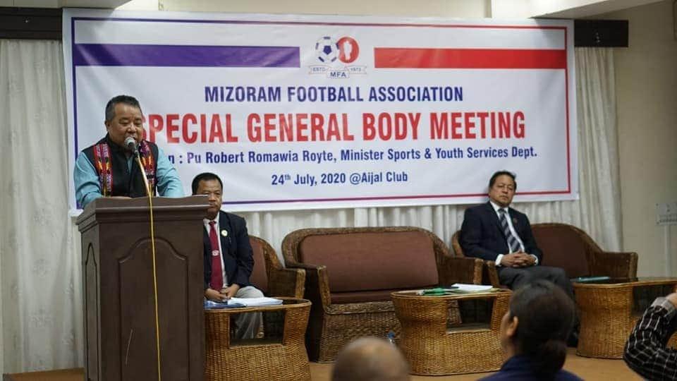 MFA Special General Body Meeting neih a ni