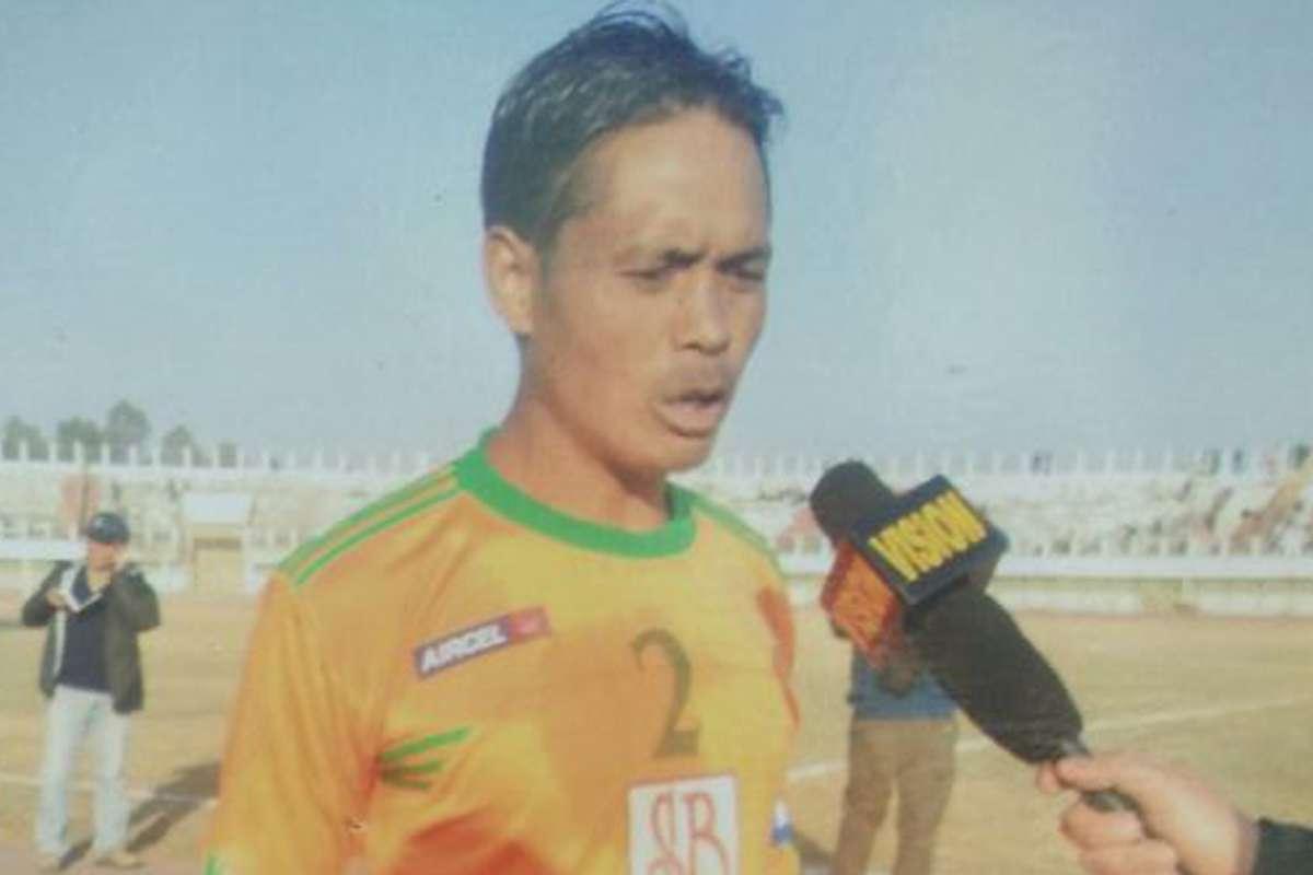 Mohun Bagan captain hlui Manitombi Singh a thi