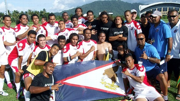 31-0 a chak lo American Samoa Football Team chanchin ngaihnawm