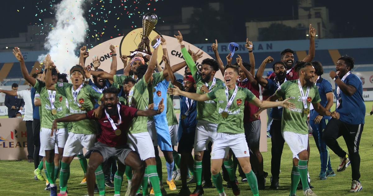 I-League champion Gokulam Kerala