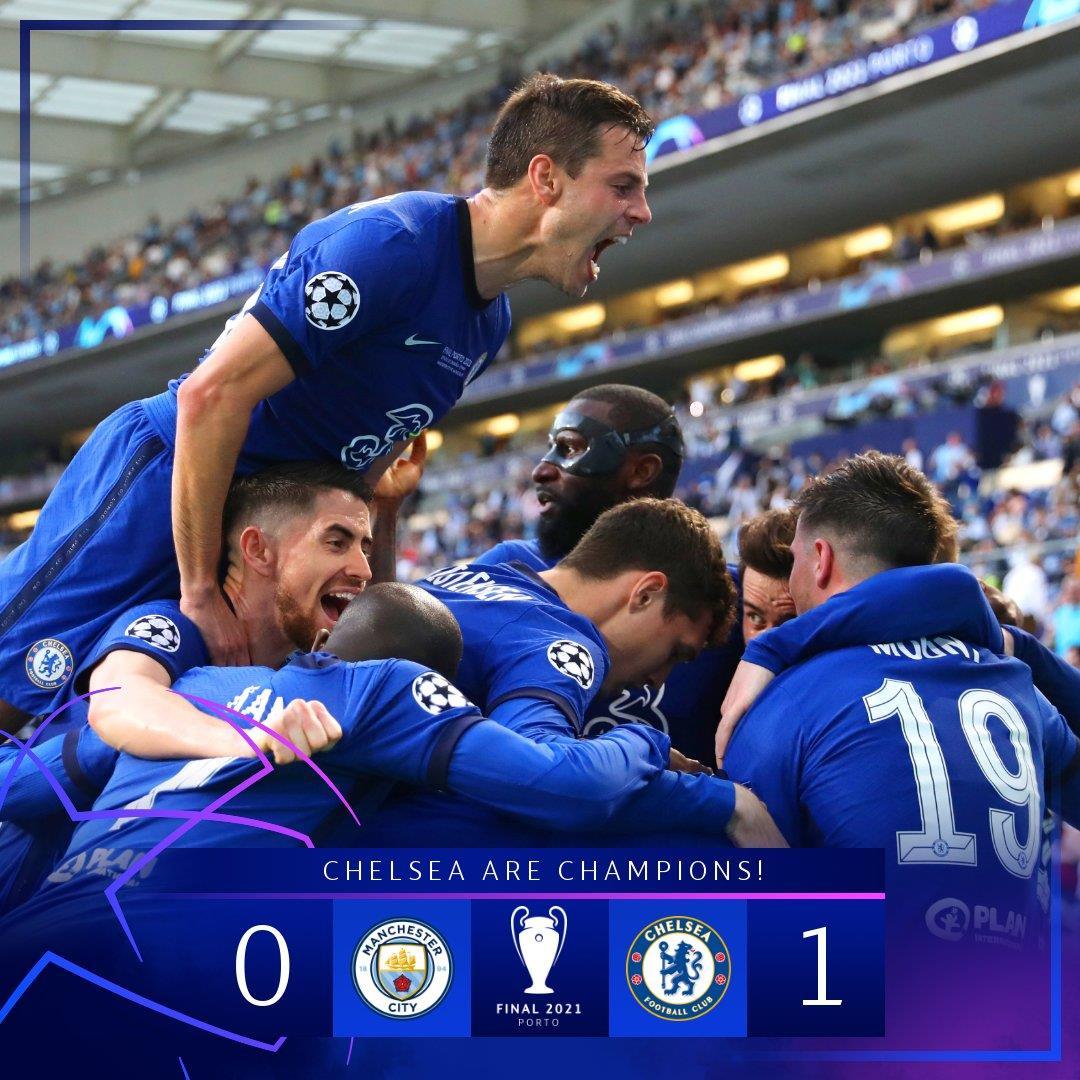 Champions League Champion – Chelsea