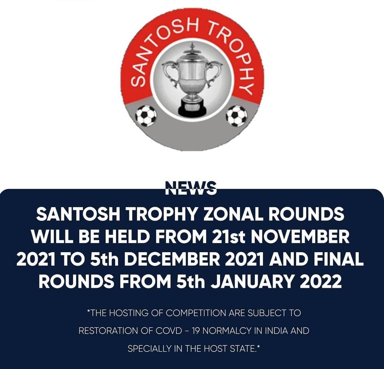Santosh Trophy 2021 khelh a ni dawn