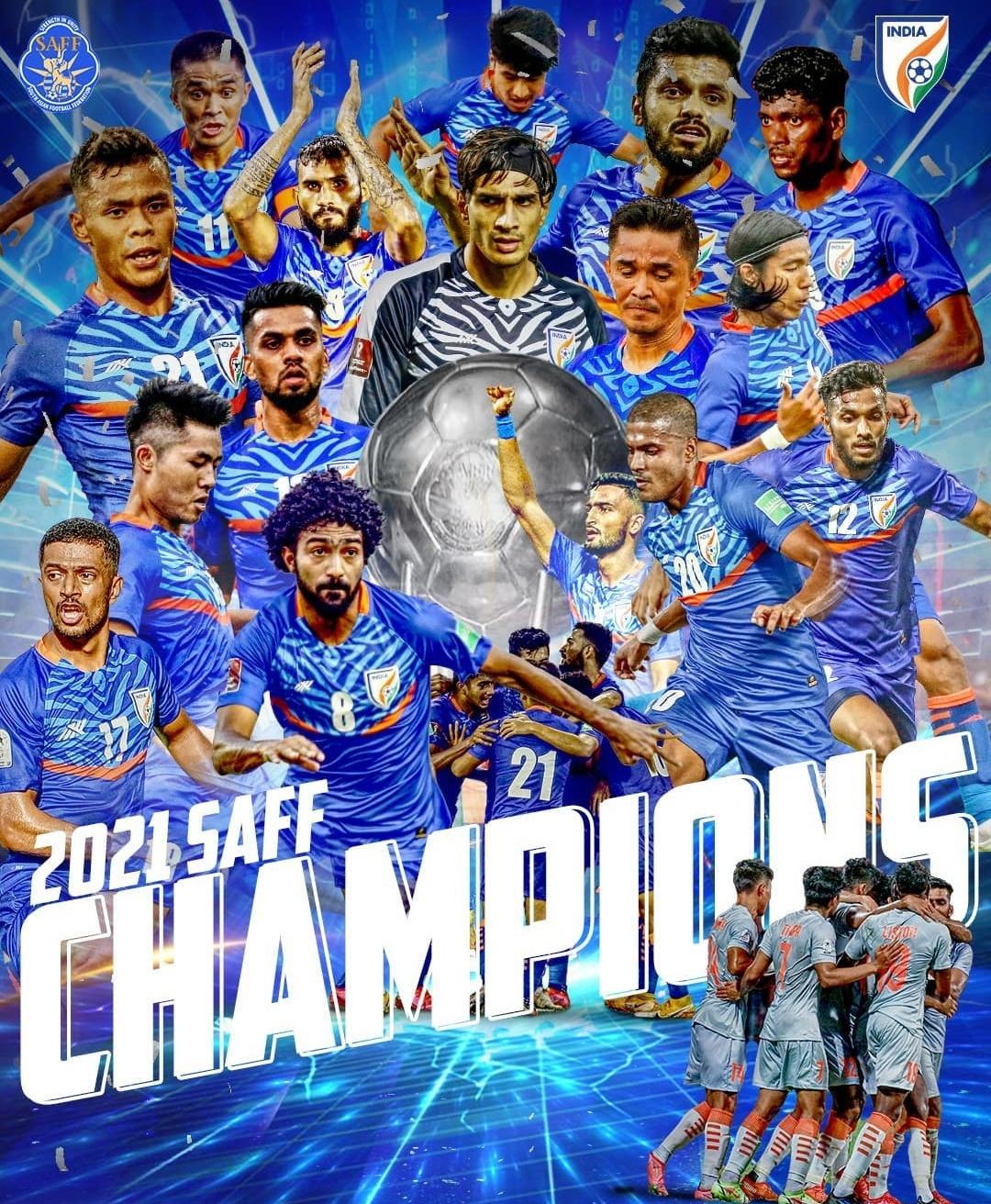 SAFF Champion India!