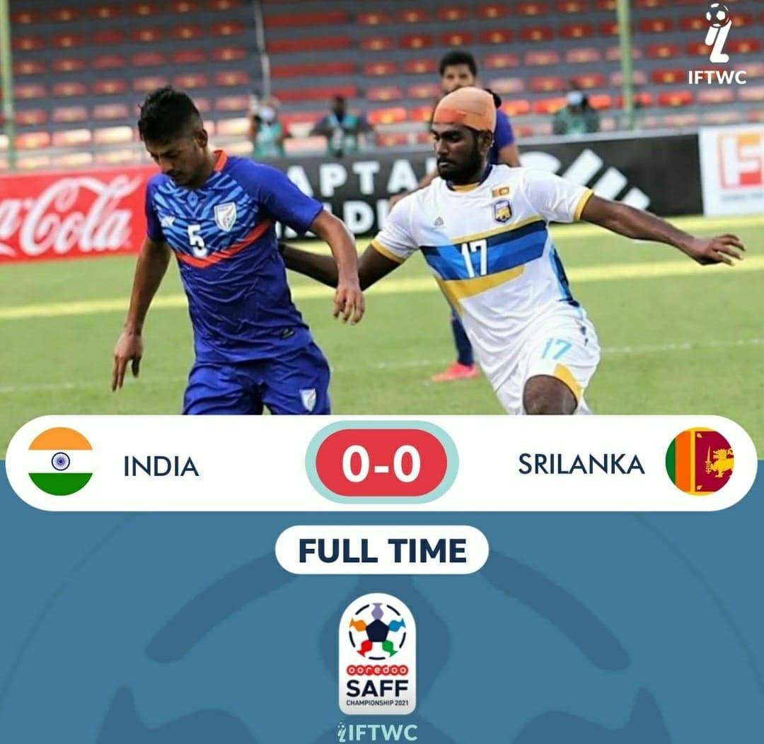 India leh Sri Lanka in draw!